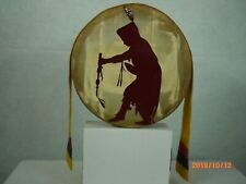 Hand Drum, Native American Wall Hanging, The Straight Dancer