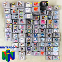 90 diverse Nintendo 64 Spiele Große N64 MODUL AUSWAHL TOP Mario NHL Zelda Turok
