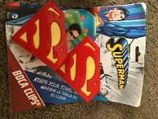 Boca Clips Superman Towel holders very RARE