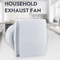 220V Wall Mounted Exhaust Fan Home Bathroom Kitchen Garage Air Vent Ventilation