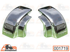2 Embouts de capote en aluminium (fixation coffre) NEUFS de Citroen 2cv - 1719 -