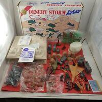 Vintage Marx 1991 Desert Storm Army Military L.E. Liberation Playset