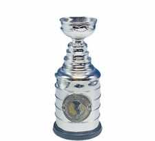 Chicago Blackhawks NHL Stanley Cup trophy souvenir metal 2010 paperweight pewter