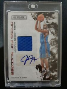 2009-10 James Harden Rookies and Stars Dress For Sucess Rookie Jersey Auto /25