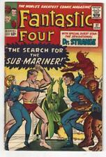 Fantastic Four #27/Silver Age Marvel Comic Book/1st Dr. Strange X-Over/VF