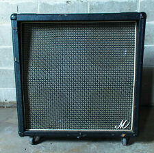 1970s Marshall Big M 4 x 12 Guitar Speaker Cabinet Loaded with Celestion G12H-80