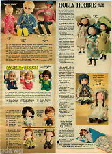 1976 ADVERT Holly Hobbie Dolls Carrie Amy Heather Canned Beans Tom Sawyer