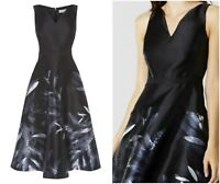ex Coast Floral Meldrey Midi Races Prom Formal Cocktail Occasion Dress RRP169