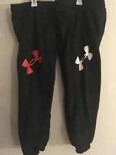 NEW! Lot Of 2 Pair Under Armour Storm Armour Fleece Jogger Pants Boys SMALL