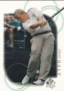2001 SP Authentic Golf Pick Your Cards!  Complete Your Set!