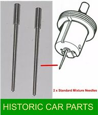 "MGB Roadster 1962-63 - 2 STD ""MB"" NEEDLES for 1½"" SU HS4 Carbs AUD52 F & R"