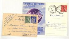 PP180 1939 París Francia Postal x2 {samwells-cubre}