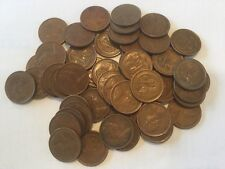 20 x 1966 Australian 1 Cent Coins-First Year of Decimal Coins- Circulated