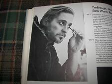 1968 University Of California Santa Barbara Actor Michael Douglas Yearbook