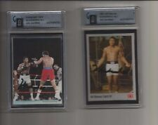 Muhammad Ali 1991 AW Sports GAI Certified foldout insert signed in black sharpie