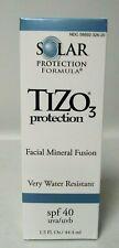 TiZo3 protection 2x Facial Mineral Fusion SPF 40 - 1.5 Oz./ 44.4ml Fac Sealed