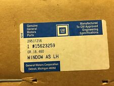 GM Glass 15623259 Left Rear Door Glass Jimmy Blazer S15 S10 Typhoon