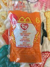 Iggy The Iguana #6 Ty Teenie Beanie Baby McDonald's