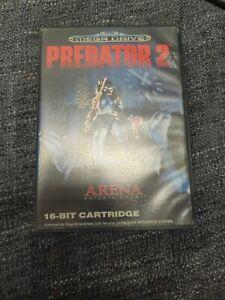 PREDATOR 2 Sega Megadrive Complete With Manual PAL
