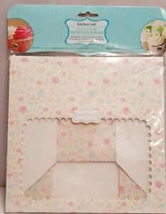 Kitchen Craft Sweetly Does It Paper Cake Boxes Pack Of 2 Presentation Boxes MIB