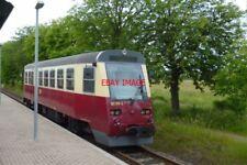 PHOTO  2012 GERMANY HARZ RAILWAY KRIMDERODE RAILCAR 187-019-5
