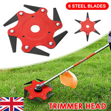 Universal 6Steel Razor Blade Head Trimmer Grass Weed Strimmer Metal Cutter Stihl