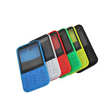 Full Housing cover case Front Frame & Back Cover & keypad for Nokia Asha 225