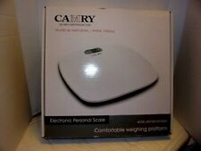 CAMRY BLUE COLOR PERSONAL SCALE, ELECTRONIC DIGITAL with LCD READ OUT