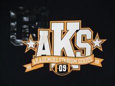 AKADEMIKS STADIUM SERIES - 3XL - NAVY BLUE T-SHIRT- C419