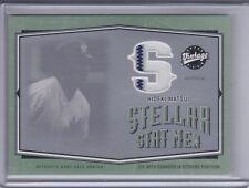 HIDEKI MATSUI 2004 Upper Deck Vintage Stellar Stat Men Game Pants #3  (C6454)