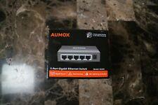 Aumox 5 Port Gigabit Ethernet Network Switch
