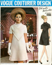 "1969 Vintage VOGUE Sewing Pattern B32 1/2"" DRESS (1574) By Belinda Bellville"