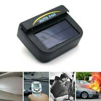 2x Auto Solarlüfter Gewächshaus Lüfter Solar Belüfter Solarventilator Schwarznew