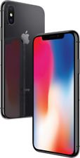 "Apple iPhone X 64GB Spacegrau LTE iOS Smartphone ohne Simlock 5,8"" Display 12MPX"