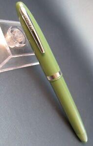 Vintage Sheaffer CADET Fountain Pen NOS Dead Stock Medium Nib Seafoam Green