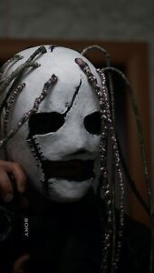 Corey Taylor Mask Iowa Stitched with dreadlocks Slipknot Hard Rock Halloween