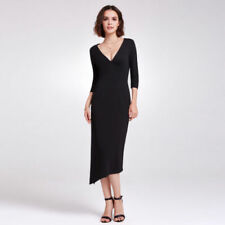 Rayon V-Neck Any Occasion Dresses for Women