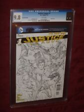 Justice League #1 CGC 9.8 7th printing  Sketch cover (2012)