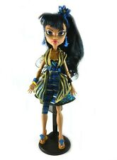 "Cleo De Nile Monster High Gloom N Bloom 11"" Fashion Doll w Outfit & Shoes Mattel"