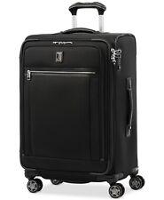 "$740 Travelpro Platinum Elite 25"" Softside Check-In Spinner Luggage Black"