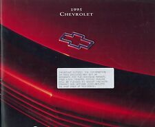 1995 CHEVROLET GENUINE STORY PROSPEKT BROCHURE CATALOGUE ENGLISCH