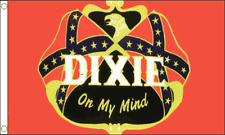 Dixie On My Mind Flag Banner Decoration USA American American US Country