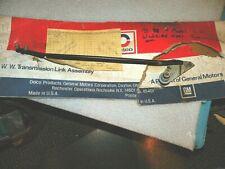1975-80 MONZA SKYHAWK STARFIRE LEFT WIPER TRANSMISSION & LINK 4961614 NOS GM