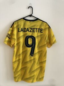 Lacazette #9 Arsenal 2019/20 Large Away Football Shirt Jersey Adidas BNWT