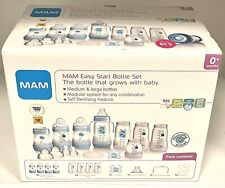 MAM Easy Start Self Sterilising Anti Colic Starter Set, Newborn Bottle Set