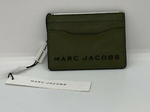 Marc Jacobs Caper Green University Card Case Wallet - M0015165 - BRAND NEW