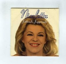 CD SINGLE (NEUF) NICOLETTA J'ATTENDS J'APPRENDS