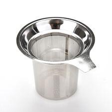 Filtre à thé en acier inox filtre réutilisable à feuilles de thé IJHWC