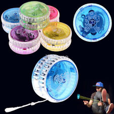 Latest Sparkling YOYO LED Glow Light Up Flash Party Favors Trick Colorful Toy US