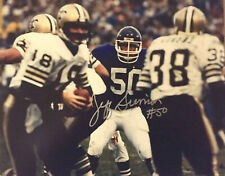 JEFF SIEMON #50 Minnesota Vikings Great Signed 8 X 10 PHOTO #2 W/COA